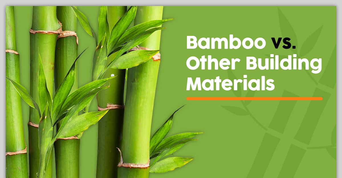 Bamboo vs. Other Building Materials