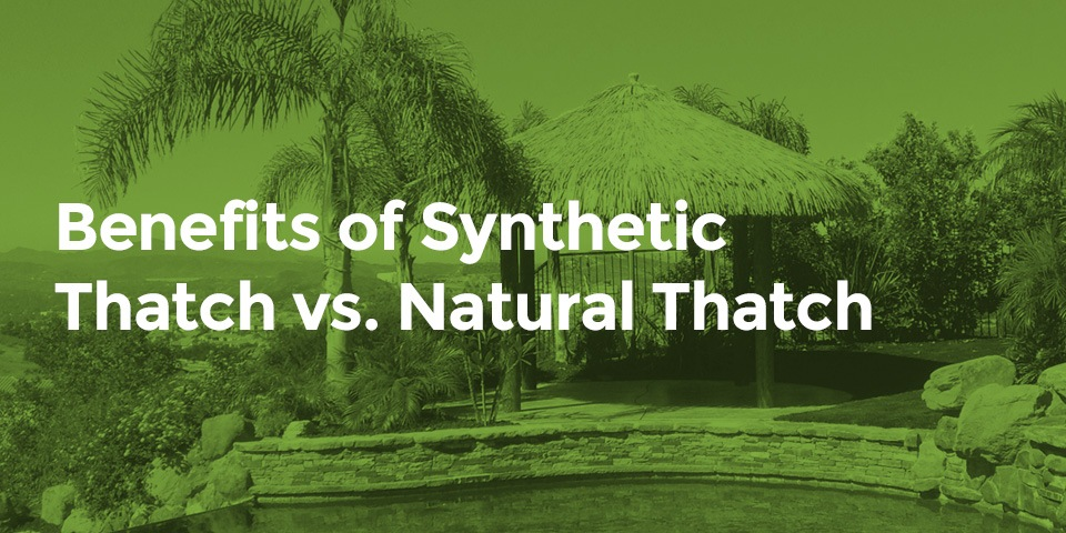 Synthetic vs Natural Thatch