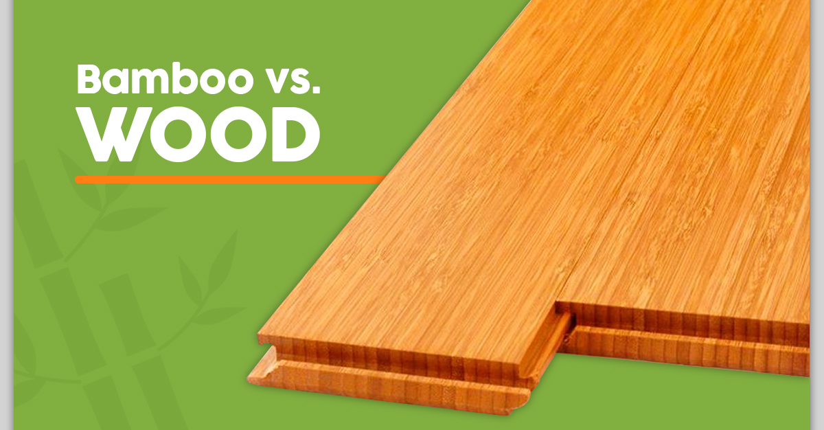 Bamboo vs. Wood