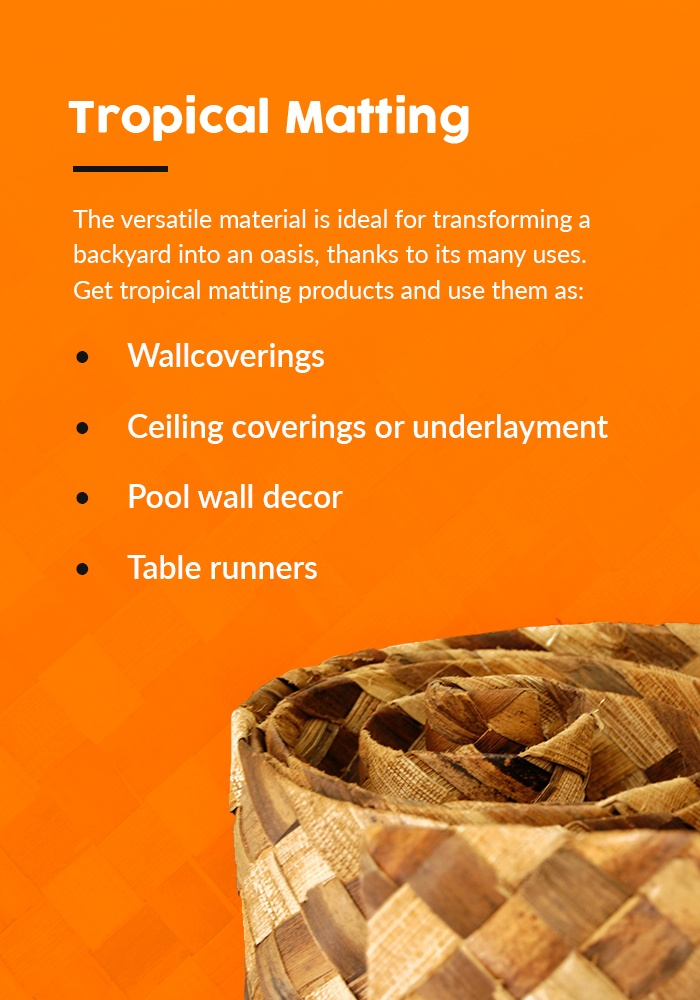 What is tropical matting?