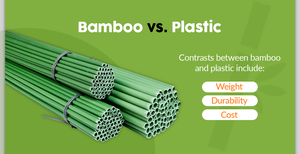 Bamboo vs. Plastic