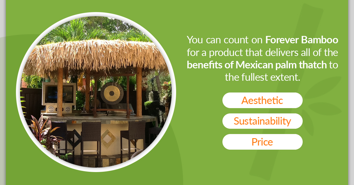 Benefits of Mexican Palm Thatch