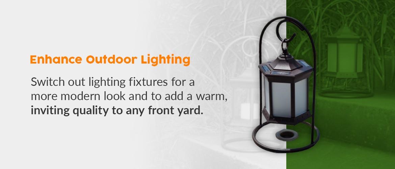 Enhance Outdoor Lighting