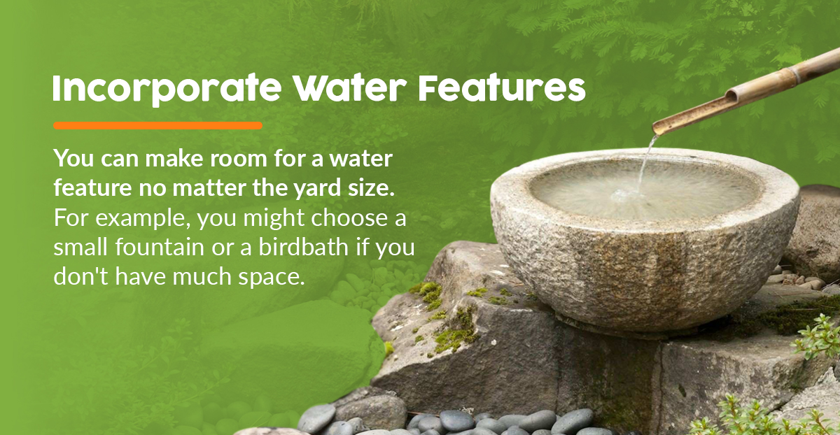 Tropical Backyard Water Features