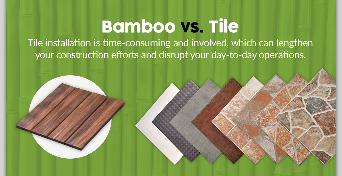 Bamboo vs. Tile