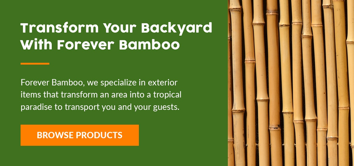Transform your backyard with Forever Bamboo