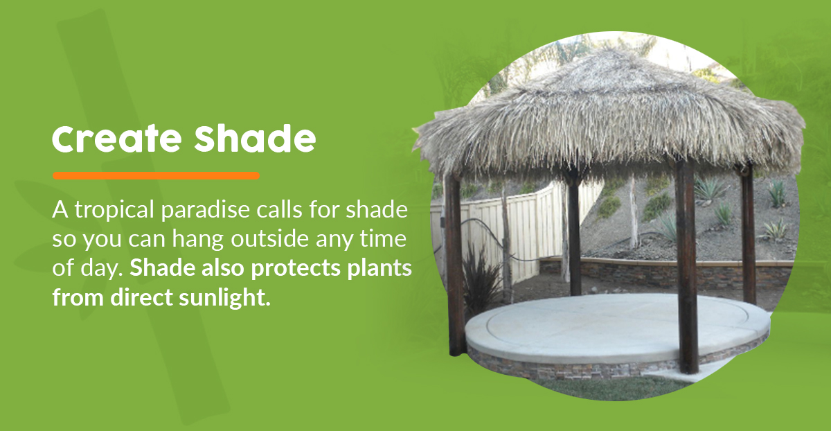 Creating Shady Outdoor Sitting Area in the Backyard