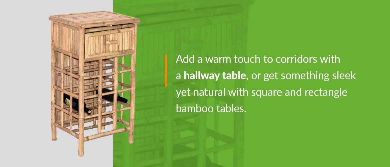 Luxury tropical furniture