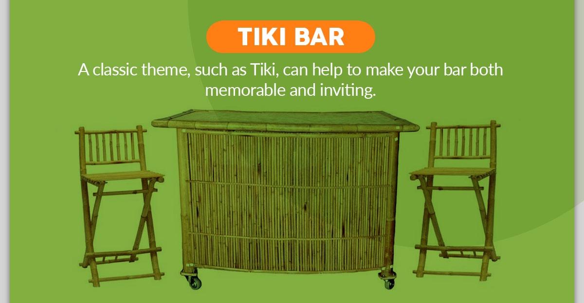 How to Make a DIY Bamboo Tiki Bar