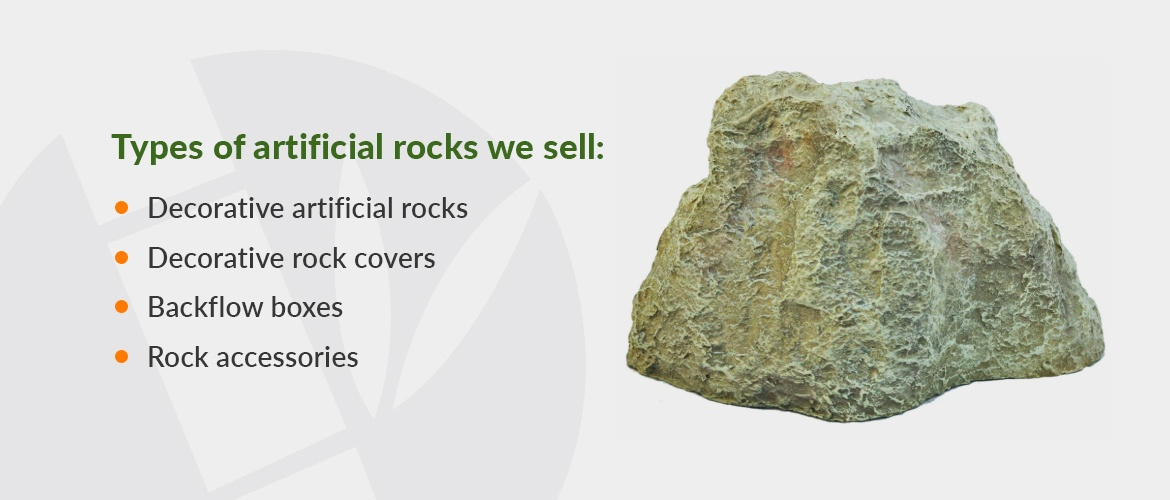 Types of artificial rocks
