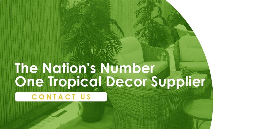 Tropical decor supplier