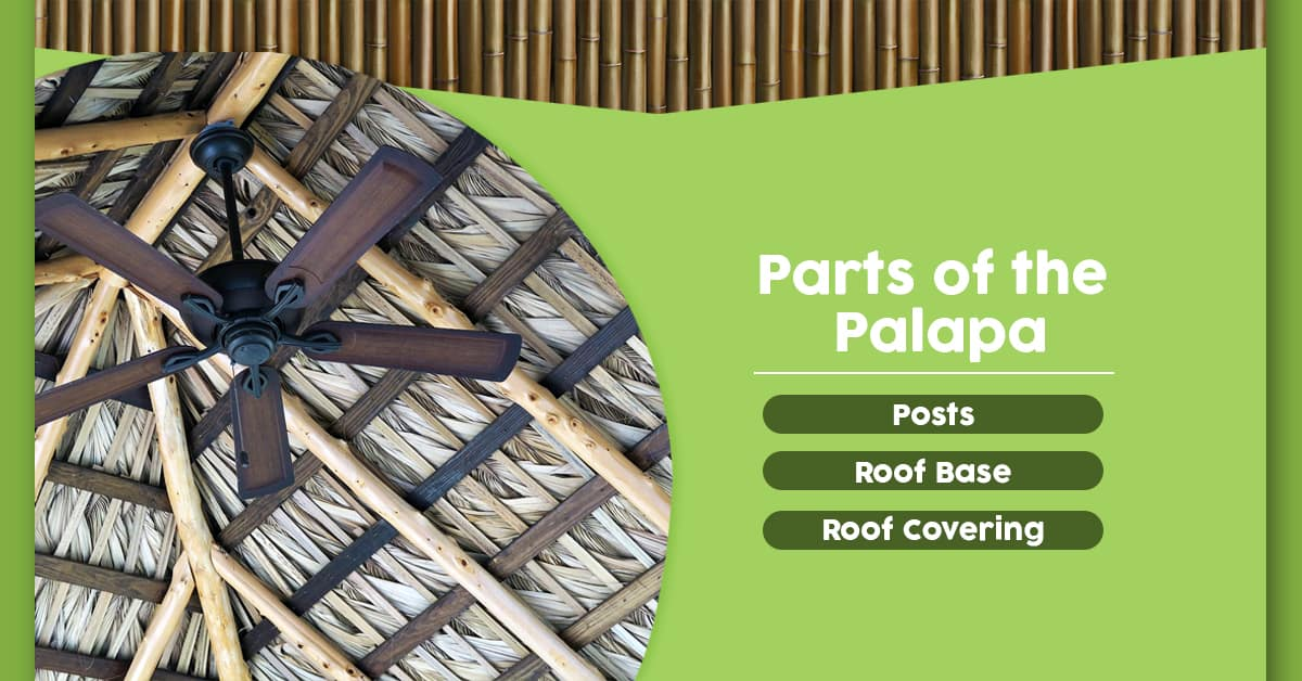 Parts of the Palapa
