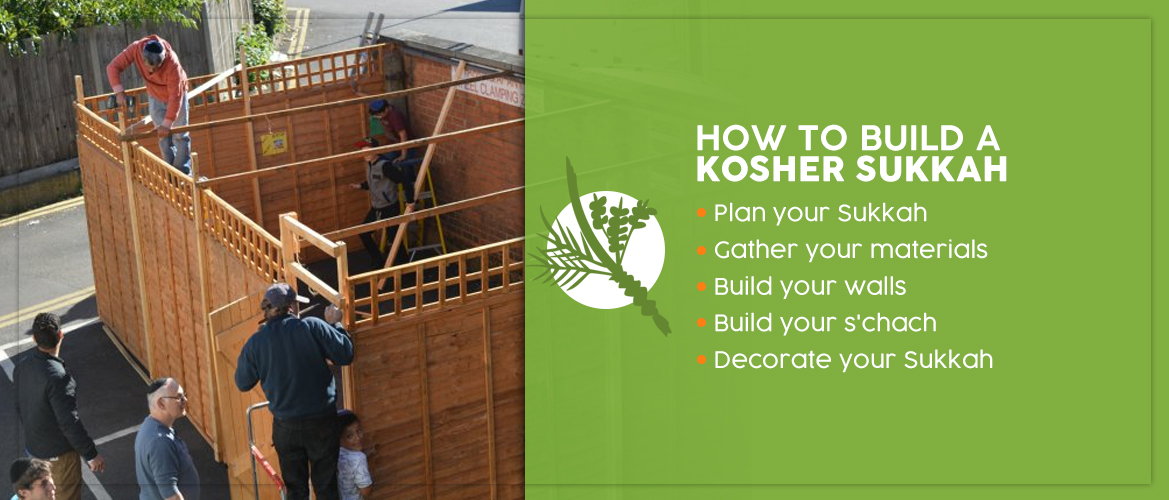 how to build a kosher sukkah