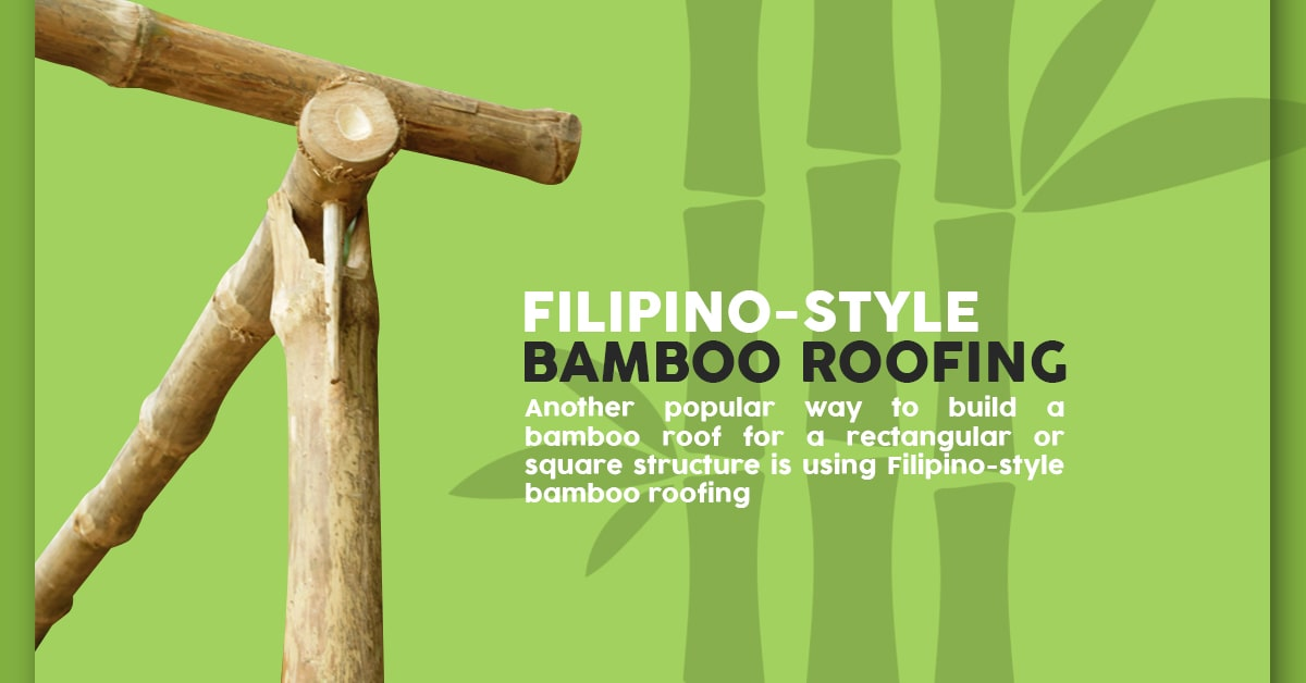Filipino-Style Bamboo Roofing