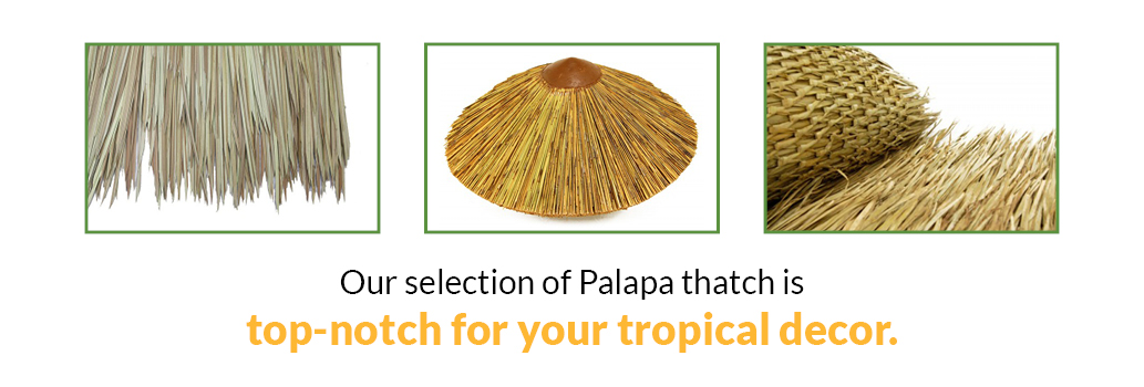 Top Notch Palapa Thatch Selection