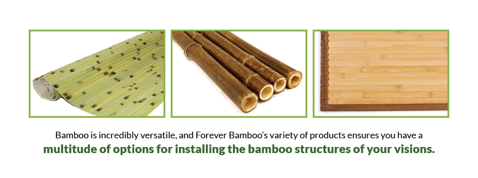 Bamboo Installation Options