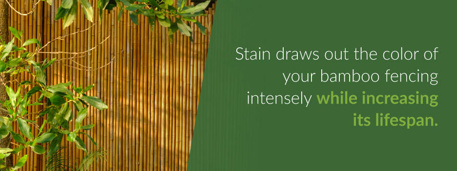 Improve Color and Durability with Stain | Forever Bamboo