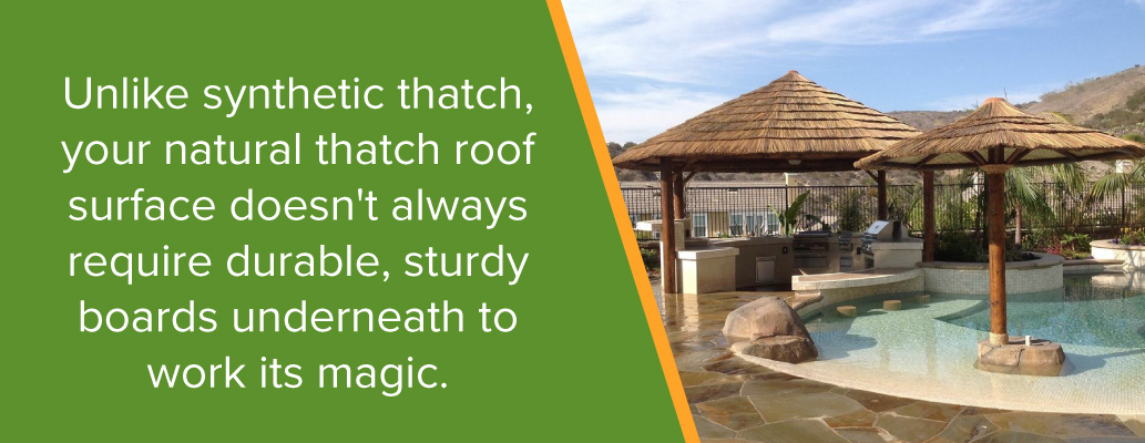 Natural Thatch Roofing Benefits