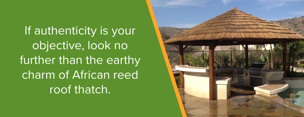 Authentic African Cape Reed Thatch