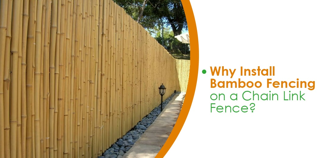 Benefits of bamboo fencing vs chain link