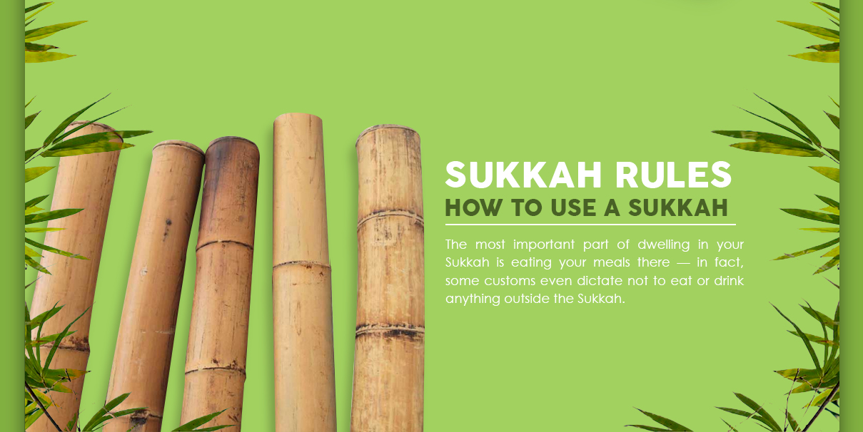 Rules for How to Use a Sukkah