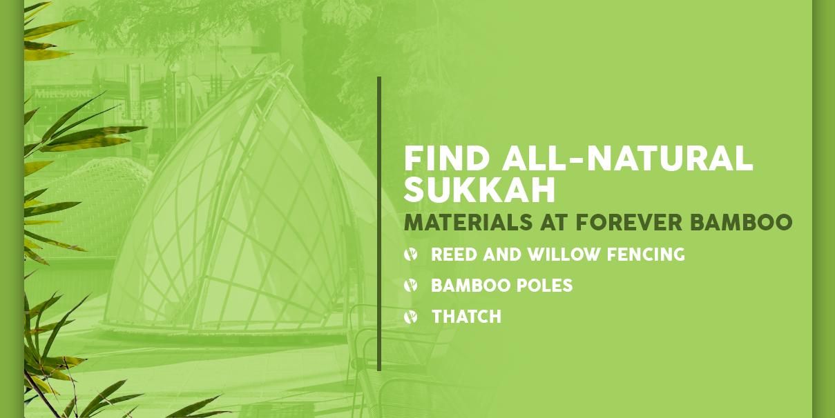 All-Natural Sukkah Building Materials