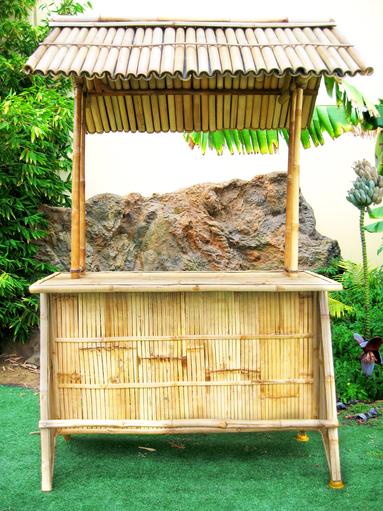 bamboo tiki stand
