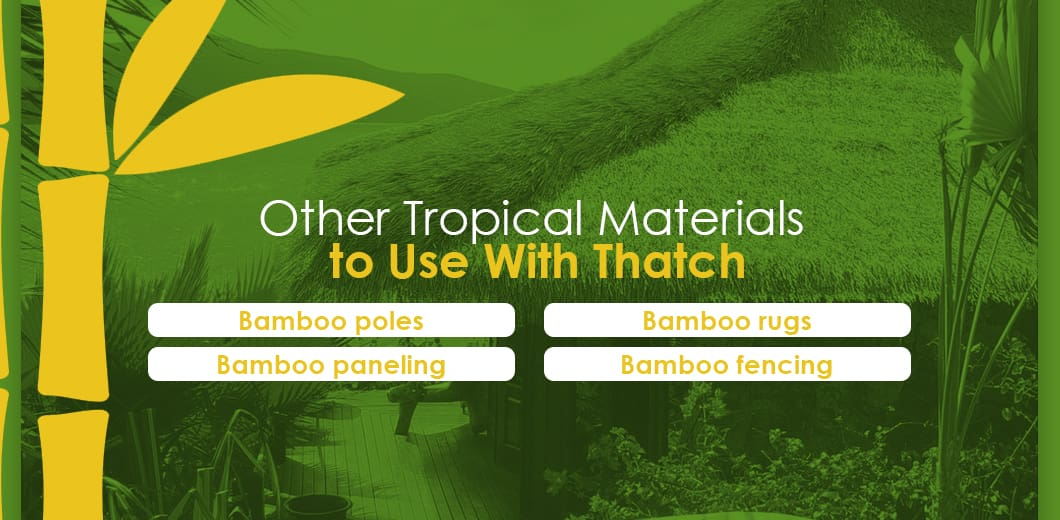 Tropical Decorating Materials